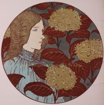 Froideur  by  Eugène Grasset