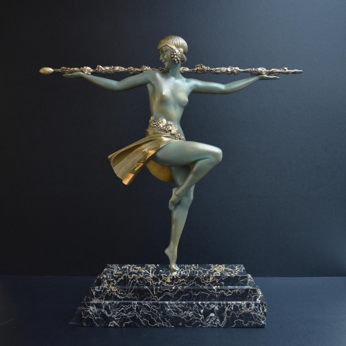 Thyrsus dancer by Pierre le Faguays