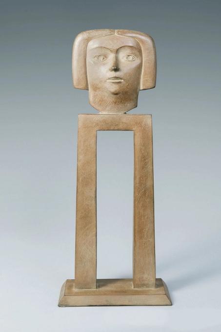 Mijmering - Bronze Sculpture - In Stock by Kobe .