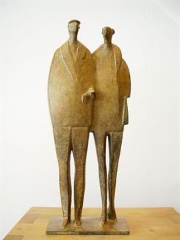 Paar IV by Jan de Graaf