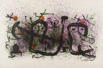 Proverbes à la main by Joan Miró