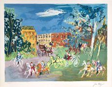La Promenade by Jean Dufy