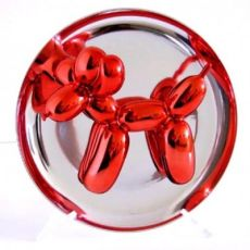Balloon Dog orange by Jeff Koons