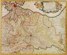 Map of Utrecht by Roij (Roy), Bernard Jacob de