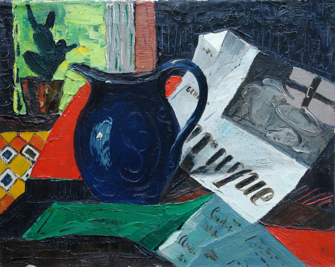 Still life by Peter van den Braken