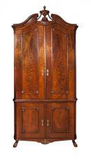 Dutch Louis Seize corner cabinet