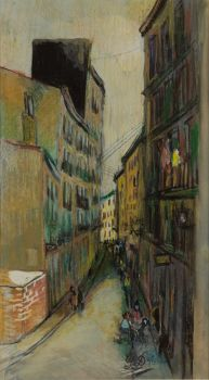 'Straatje te Madrid' by Pieter Defesche