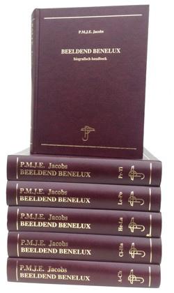 Beeldend Benelux 1600-2000. Biografisch handboek in 6 delen. Luxe lederen editie. by Various artists