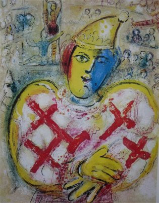 The Circus, plate nr. 10 by Marc Chagall