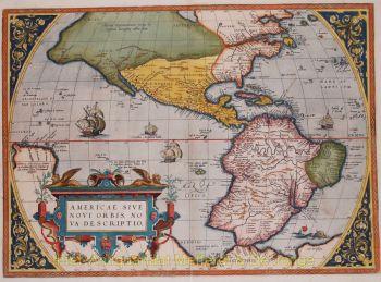 America map  by  Ortelius
