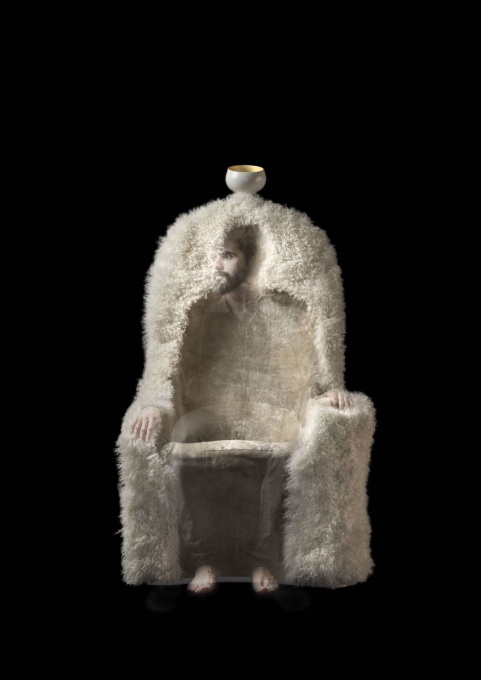 Invisible Personage - Sculpture by Salvador Dali