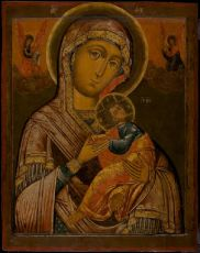 Russian Icon: The Mother of God of the Passion