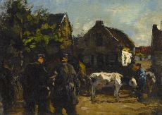 Koemarkt by Willem de Zwart