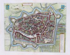 Leeuwarden  by  Joan Blaeu