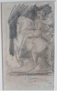 Rider on Horseback by Willem van Konijnenburg
