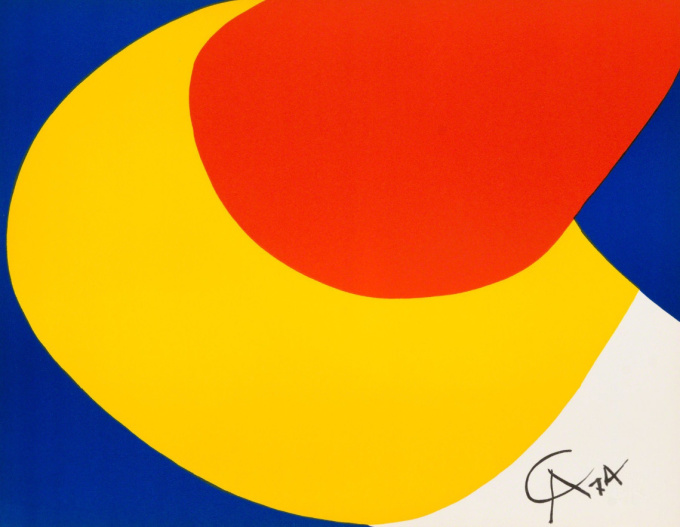 Convection, Flying Colors 4 by Alexander Calder