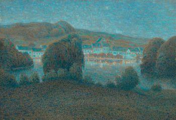 Etangs de Boitfort by William Degouve de Nuncques