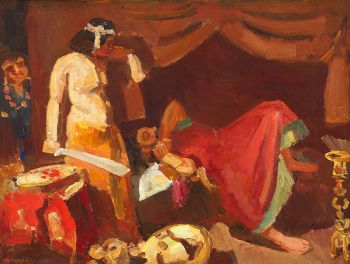 Judith and Holofernes by Kees Maks