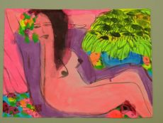 Nude by Walasse Ting