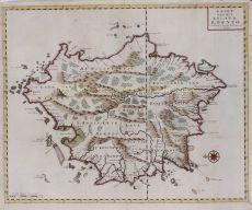 Kaart van het Eyland Borneo by Valentyn, Francois (1666-1727)