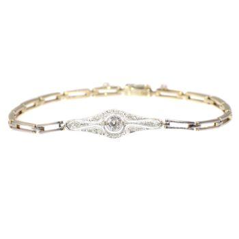 Vintage Art Deco - Belle Epoque diamond bracelet by Unknown Artist