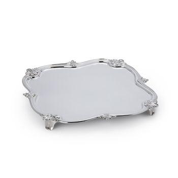 A Dutch silver salver by Hendrik Swierink