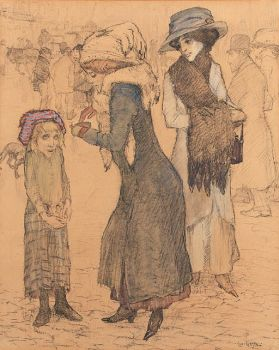 Asking for Alms by Leo Gestel