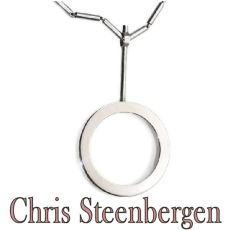 Artist Jewelry by Chris Steenbergen silver necklace and pendant by Unknown