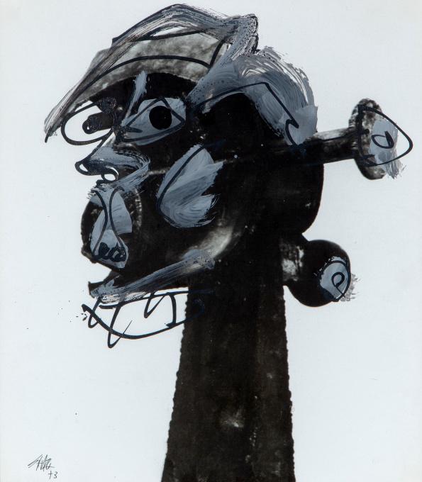 'Zonder titel' by Antonio Saura