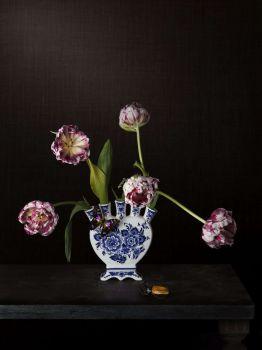 Tulips and Butterfly by Jeroen Luijt