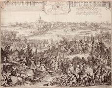 Beleg van Naarden  by  Romeijn de Hooghe