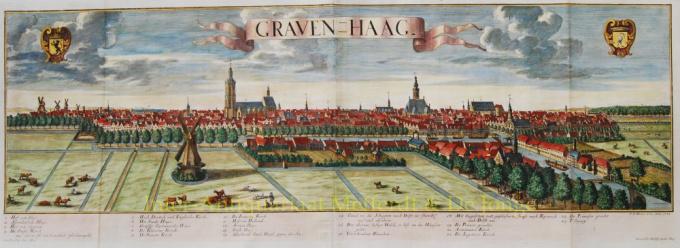 Graven-Haag by Georg Bathalsar Probst