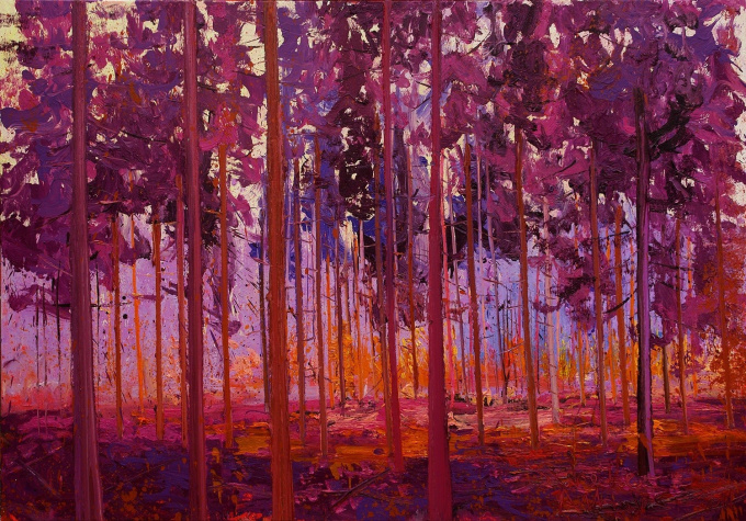 anloo raw magenta by Gertjan Scholte-Albers