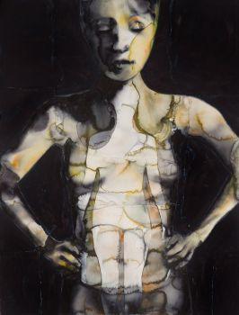 The Dirty Yellow Series - Inside Figure by Graham Dean