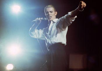 David Bowie - AHOY Rotterdam 1976 by Gijsbert Hanekroot