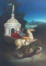 S. Giorgio e il Drago by Giovanni Tommasi Ferroni