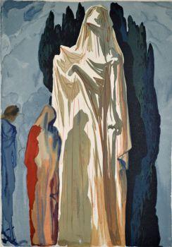 Divina commedia inferno 10 by Salvador Dali
