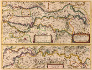 Gelderland, Guelders  by  Henricus Hondius
