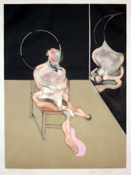 'Seated Figure' by Francis Bacon