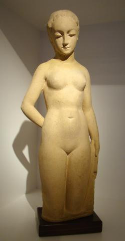 Standing nude by Gijs Jacobs van den Hof