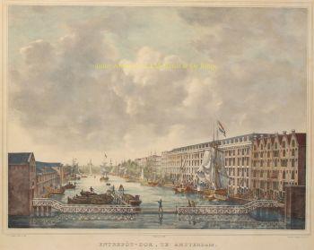 Entrepotdok Amsterdam  by  Petrus Josephus Lutgers