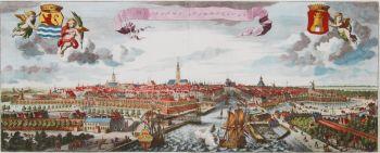 Middelburg panorama  by Smallegange, Mattheus