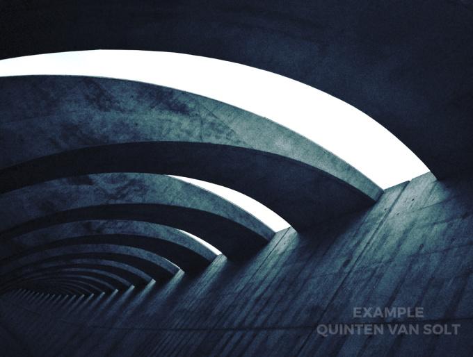 Concrete Curve by Unknown Artist