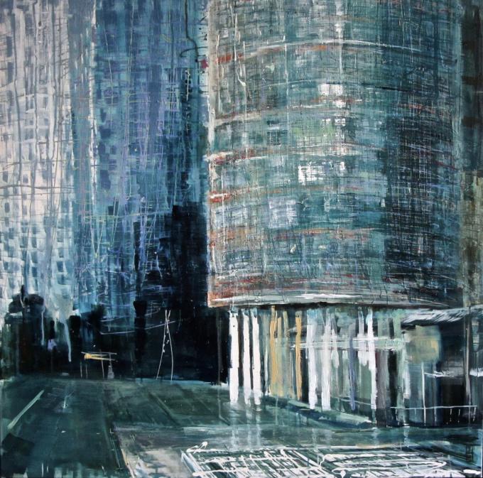 Rotterdam, Kop van Zuid by Ineke Hofste