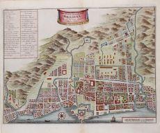 Plattegrond van Amboina soo als het was inden Jaare 1718 by Jan van Braam