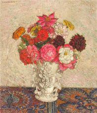 Bouquet de Fleurs II by Léon De Smet