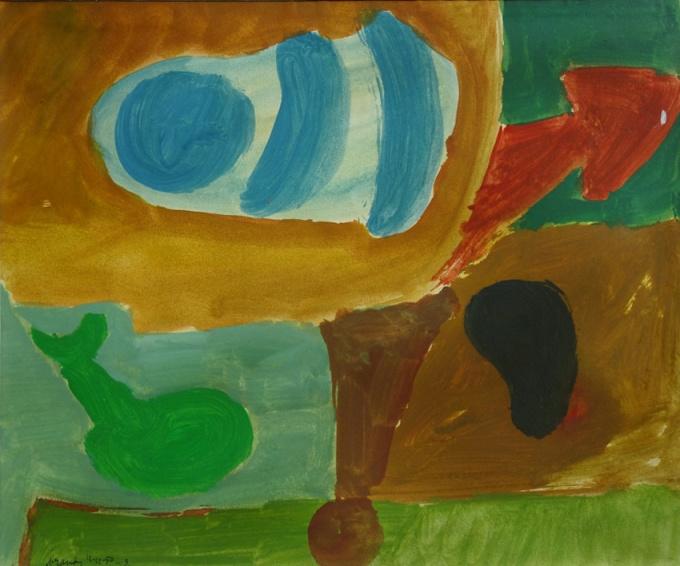 Composition, 1950 by Eugene Brands