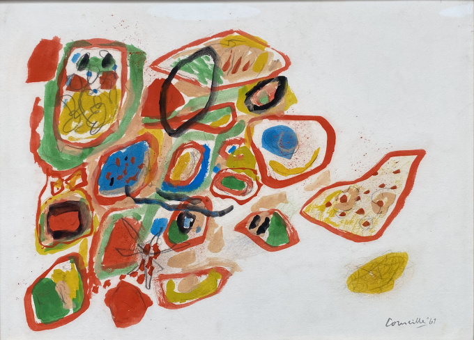 Composition by Corneille .