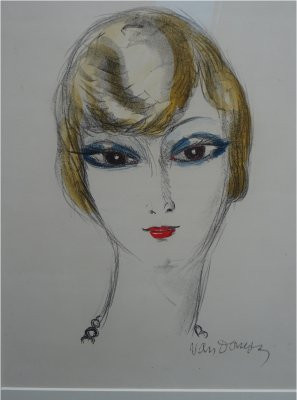 Blond Girl by Kees van Dongen