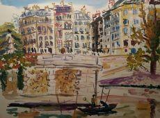 Parijs, Seine by Hans Ittmann